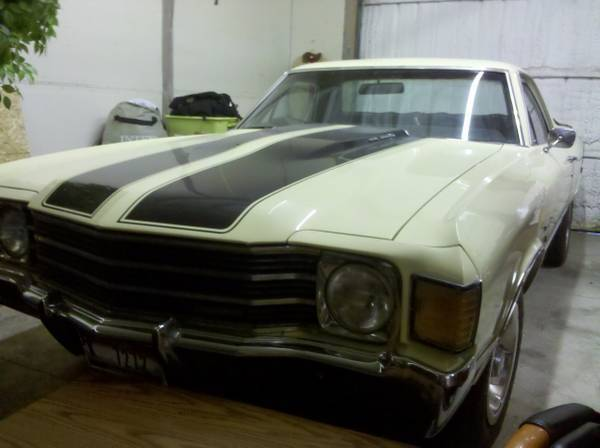 1972 Chevrolet El Camino Base