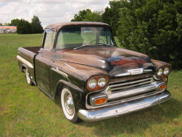 1958 Chevrolet Other Pickups BIG WINDOW APACHE, FRESH 350, 700R SHORT BED