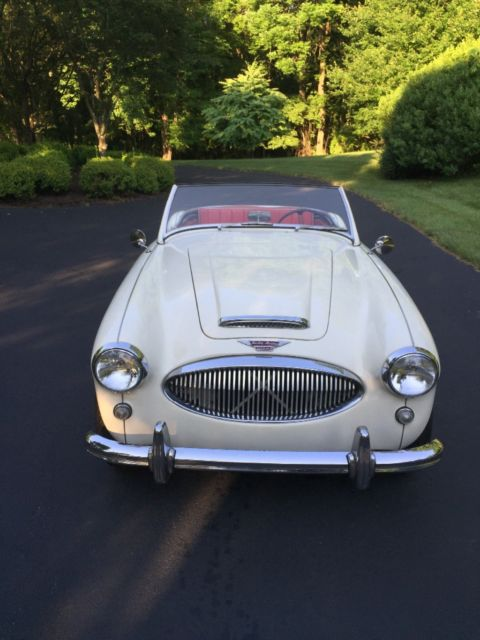 1962 Austin Healey 3000 BT-7 2x2 with operating electric overdrive