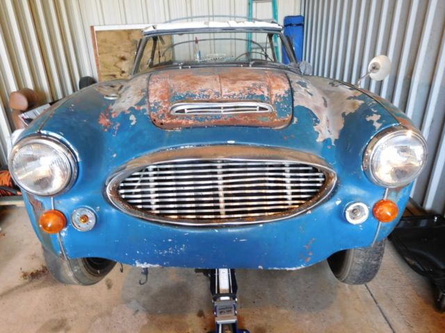 1964 Austin Healey 3000 ...GREAT FRAME, NO RESERVE