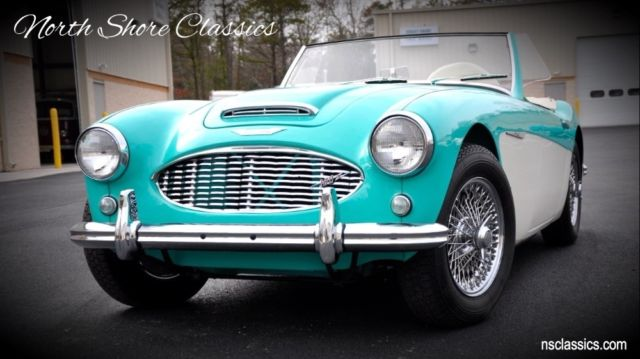 1959 Austin Healey Roadster - FRAME OFF RESTO -100/6- DUAL CARBS