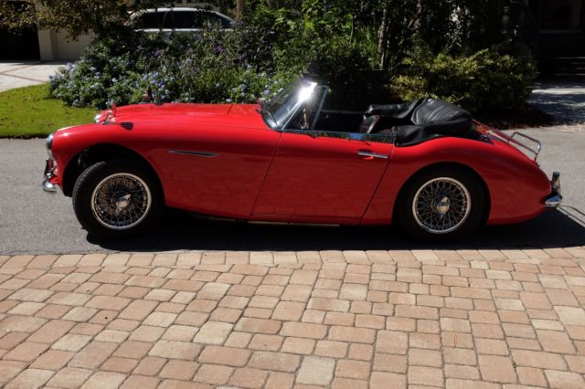 1963 Austin Healey 3000 Chrome