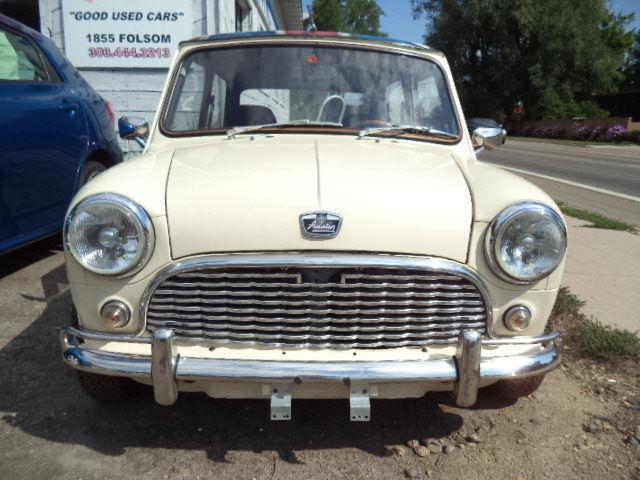 e1cb52187521e9 Austin Mini Classic 1962 left hand drive no rust for sale  photos ...