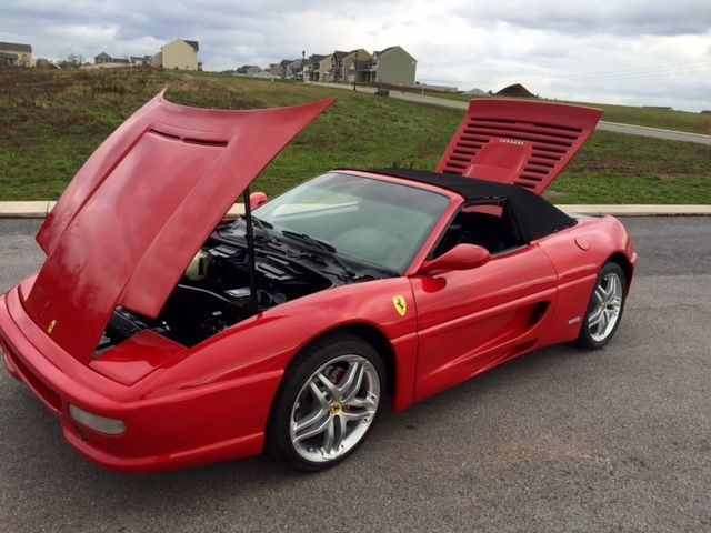 Authentic looking f355 spider spyder replica kitcar kit car fiero authentic looking f355 spider spyder replica kitcar kit car fiero ferrari sciox Gallery