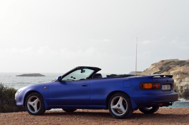 1992 Toyota Celica GT Convertible, 4WS, automatic, A/C, JDM