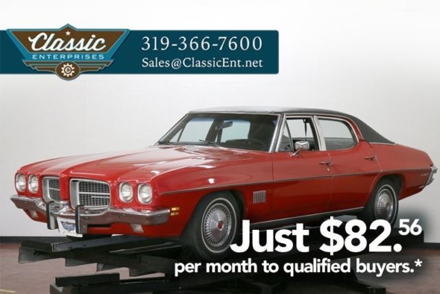 1971 Pontiac Le Mans original 4 door with style comfort very drivable