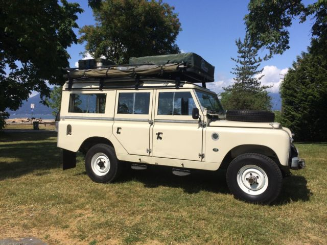 1969 Land Rover Land Rover Series IIa 109