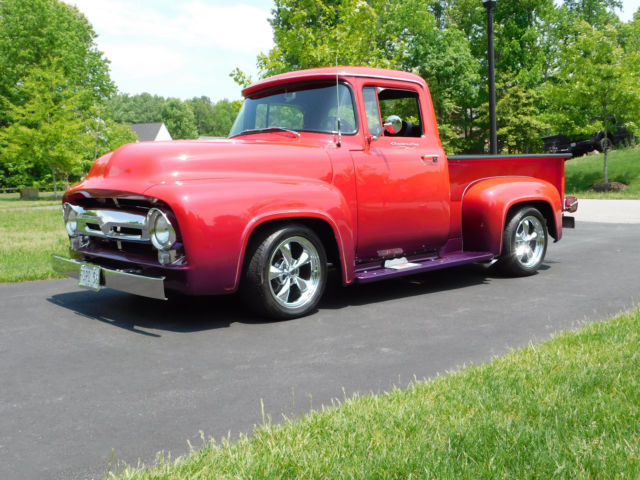 1956 Ford F-100 Pro Touring, Street Rod