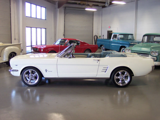 cc2b5c552315 Awesome Fully Restored 1966 Mustang Convertible V8 4-Speed Loaded Show and  Go!!