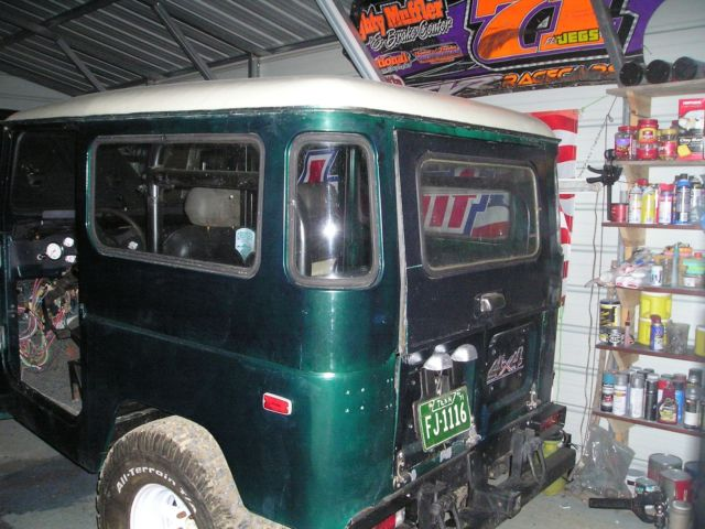 Awesome Toyota Fj40 Land Cruiser 350 V8 Automatic 4x4 For Sale. Wiring. 1977 Fj40 Engine Diagram At Guidetoessay.com
