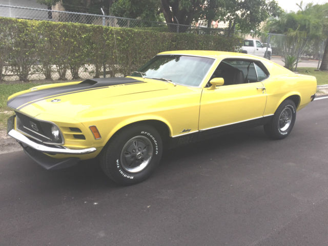 1970 Ford Mustang Deluxe