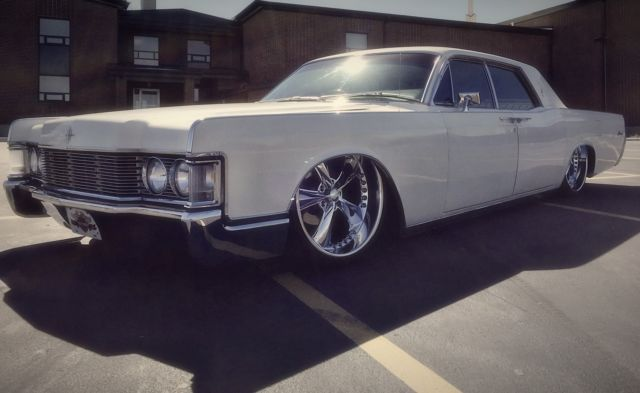 Bagged 68 Lincoln continental chip foose 22s slab for sale ...
