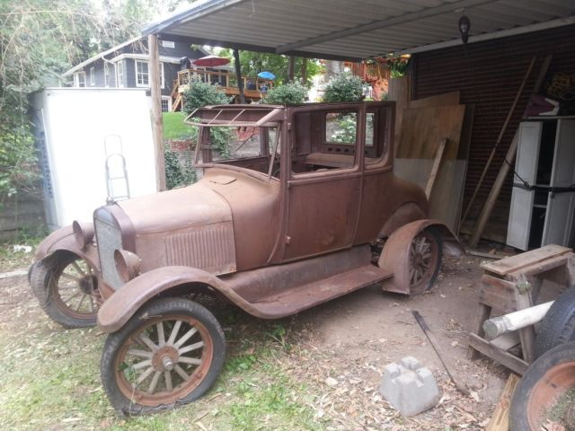 BARN FIND 1926 Model T Coupe RARE