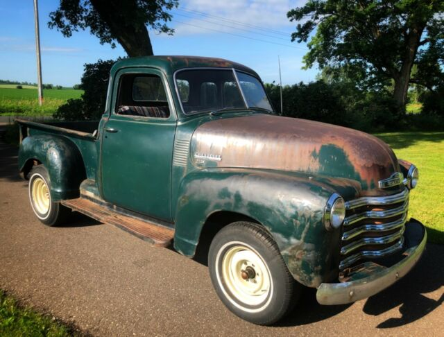 1950 Chevrolet Other Pickups 3800 3600 3100 Deluxe Cab