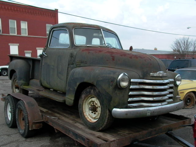 Barn find 1953 chevrolet 3600 1ton five window pickup for for 1953 5 window chevy truck for sale