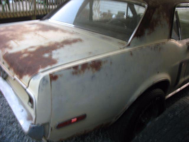 BARN FIND 1968 FORD MUSTANG 289 MANUAL TRANS ORIGINAL CAR