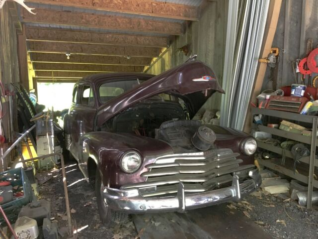 1947 Chevrolet Other BARN FIND 2DR COUPE STYLEMASTER RUNS AND DRIVES