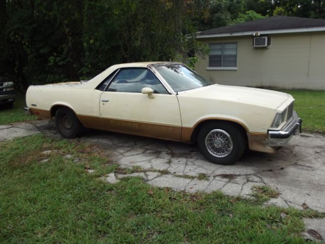 Barn Find Real Super Sport 1978 Chevy El Camino Ss For