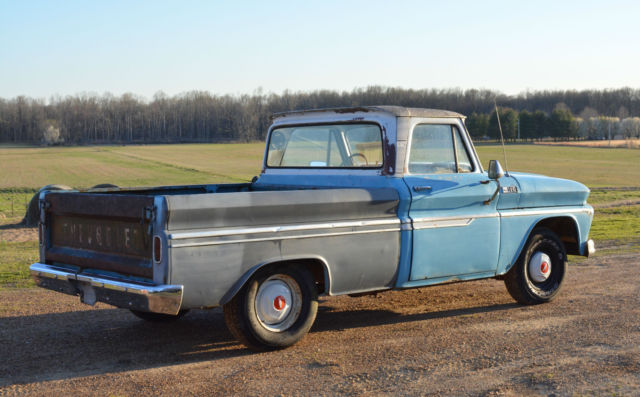 1965 Chevrolet C-10 SWB FLEETSIDE W/RARE BIG BACK WINDOW
