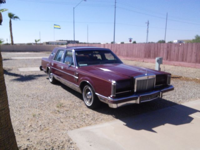1980 Lincoln Mark Series Original chrome