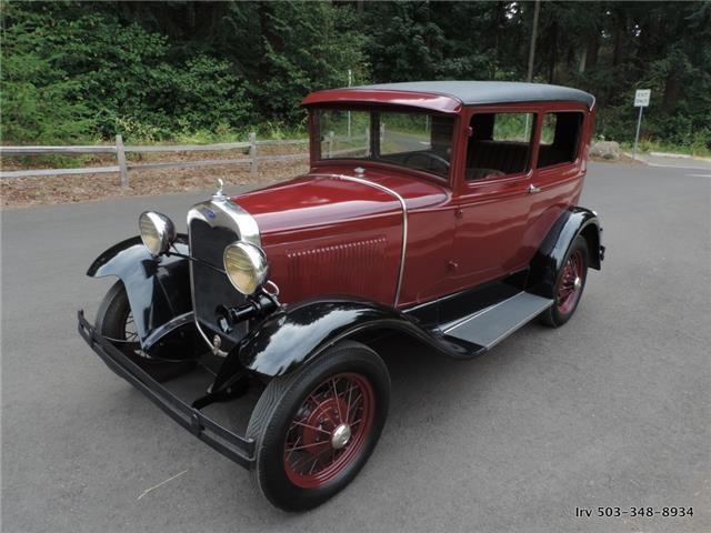 1930 Ford Model A Standard