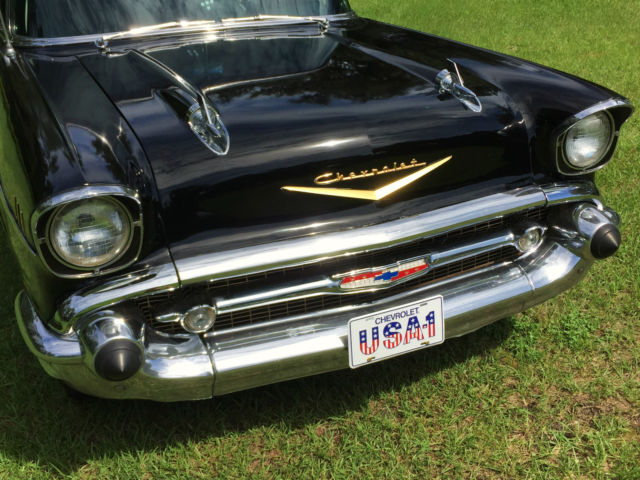 Beautiful 1957 chevrolet chevy bel air 4 door sedan resto for 1956 chevy belair 4 door for sale