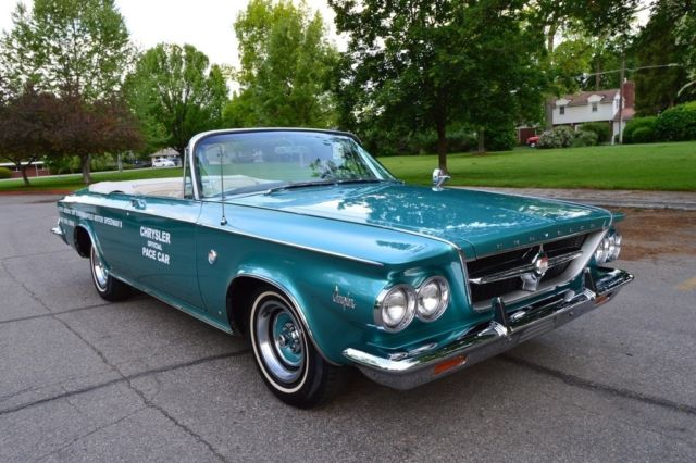 1963 Chrysler 300 Series Pace Car