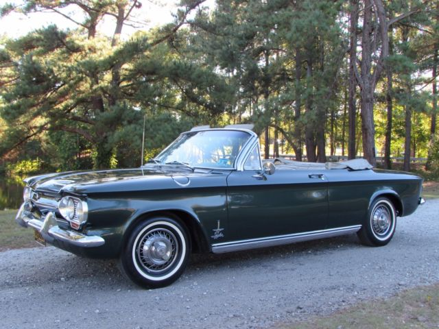 """Beautiful 1963 Corvair Spyder Convertible """" NO RESERVE"""" for sale ..."""