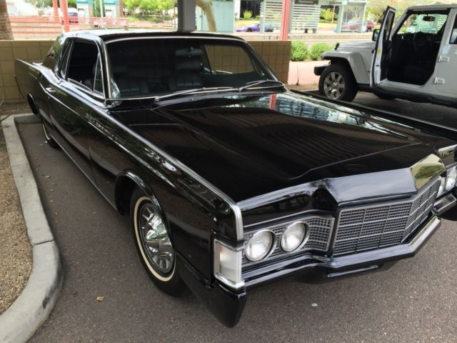 1969 Lincoln Continental Coupe