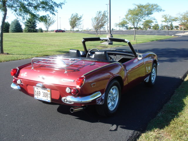 beautiful 1969 triumph spitfire convertible for sale: photos