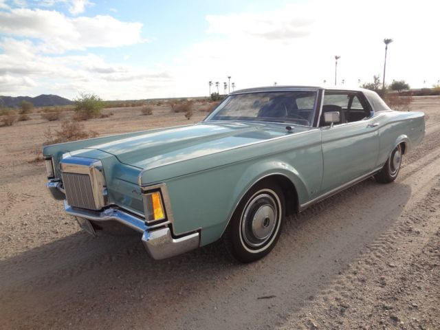1971 Lincoln Continental Mark III series