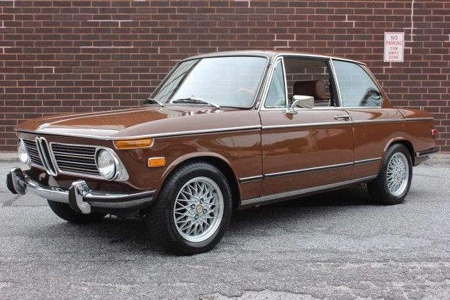 Beautiful 1972 Bmw 2002 Tii Very Straight Just Serviced