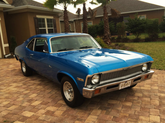 beautiful 1972 chevy nova with factory a c 1968 1969 1970. Black Bedroom Furniture Sets. Home Design Ideas
