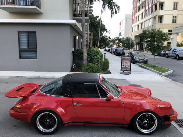 1977 Porsche 911 Targa Wide Body Conversion