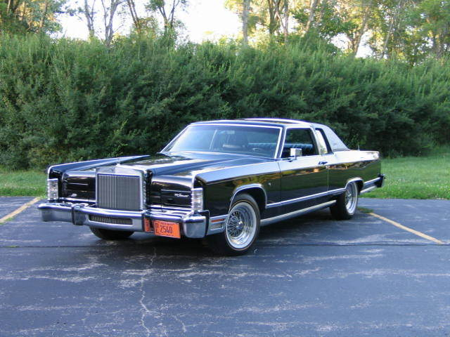 Beautiful 1978 Lincoln Town Coupe With 39000 Original Miles For Sale