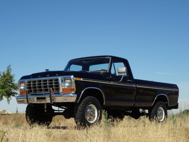 beautiful 1979 ford f250 explorer custom package 4x4 low mileage built 460 for sale photos. Black Bedroom Furniture Sets. Home Design Ideas