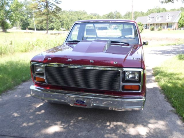 1981 Ford F-100 short wheel base