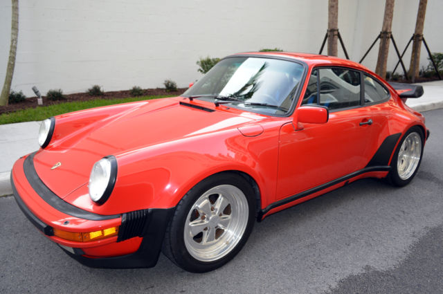 1987 Porsche 911 1987 Porsche 911 Turbo / 930 Coupe