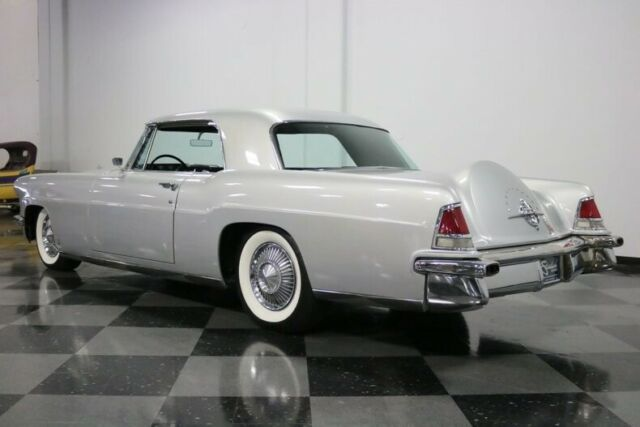 1957 Silver Lincoln Continental Mark II Coupe with Black interior