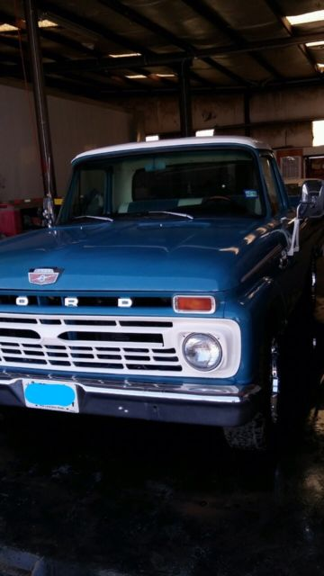1965 Ford F-100 twin I Beam