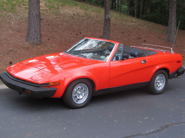 1980 Triumph Other Convertible Sports Coupe
