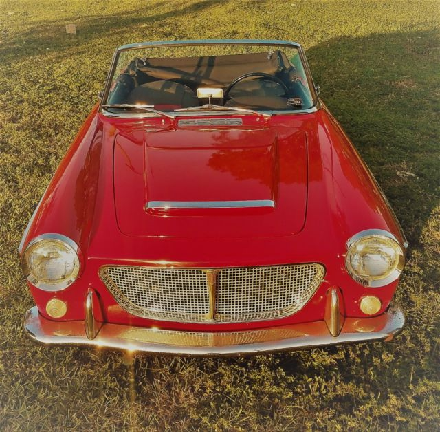 "Beautiful Classic Fiat 1200 Year 1961 ""Vetture Speciali"