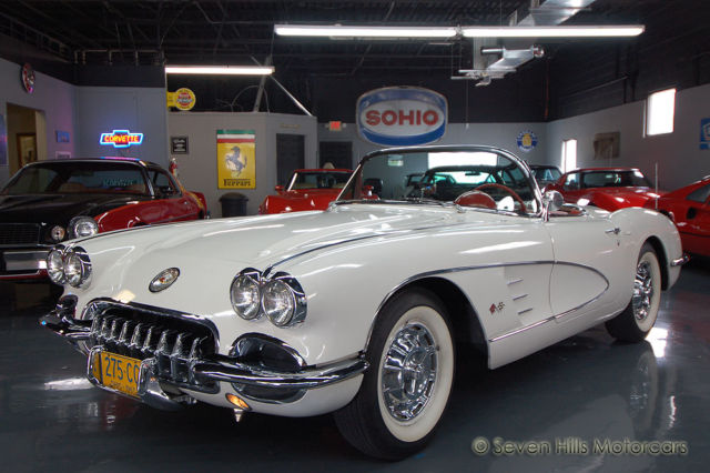 1960 Chevrolet Corvette #'s Match