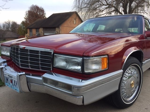 1992 Cadillac DeVille Opera Roof