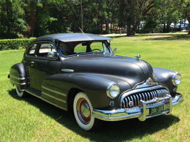 Beautiful Original 1947 Buick Special 2 Door Sedanette