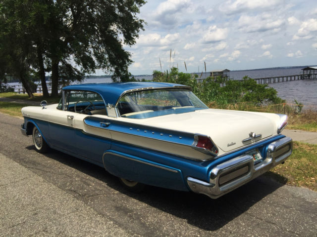Beautiful original 1957 mercury hardtop with 34k miles for 1955 mercury monterey 4 door