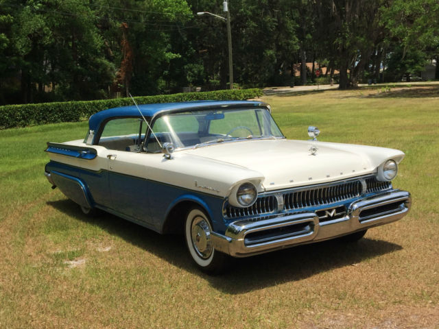 Beautiful original 1957 mercury hardtop with low miles for 1955 mercury monterey 4 door