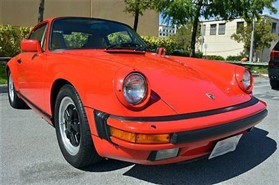 1986 Porsche 911 1986 Porsche 911 Carrera Coupe - Red