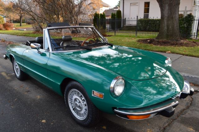 BEAUTIFUL RARE SURVIVOR ALFA ROMEO SPIDER INIEZIONE ROADSTER - Alfa romeo spider 1974 for sale