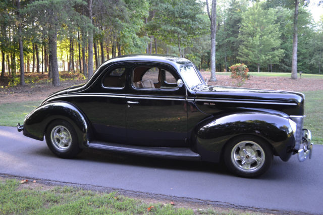 beautiful restored all metal 40 ford opera coupe street rod all the best for sale photos. Black Bedroom Furniture Sets. Home Design Ideas